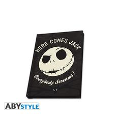 Abysse Europa Kft. - NIGHTMARE BEFORE XMAS - Pocket Notebook Jack glow in the dark - ABYNOT029