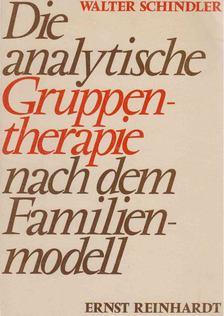 Walter Schindler - Die analytische Gruppentherapie nach dem Familienmodell [antikvár]