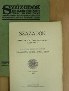 Fekete Nagy Antal - Századok 1938. január-március [antikvár]