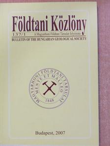 Alexandru Szakács - Földtani Közlöny 2007/1. [antikvár]