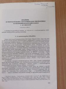 Gadanecz Béla - Adalékok az osztálytudatos vasútmozgalom történetéhez az ellenforradalmi korszakban. I. Az 1922-es év (dedikált példány) [antikvár]