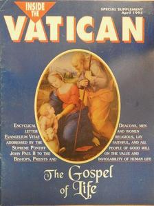 II. János Pál pápa - Inside the Vatican Special supplement April 1995 [antikvár]