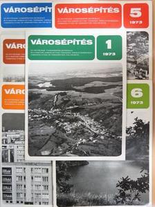 Cseh István - Városépítés 1973/1-6. [antikvár]