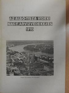 Betovics András - Az Alsó-Tisza vidéki nagy árvízvédekezés [antikvár]