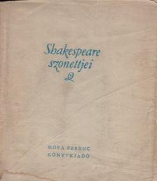 William Shakespeare - Shakespeare szonettjei [antikvár]