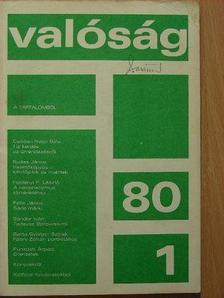 Balázs Sándor - Valóság 1980. január [antikvár]