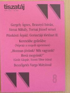 Barna Gábor - Tiszatáj 1999. augusztus [antikvár]