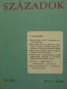 Benczédi László - Századok 1979/6. [antikvár]