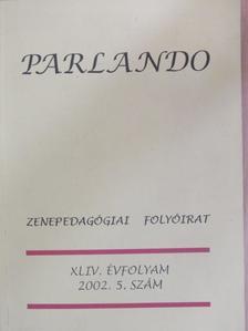 Balázs Árpád - Parlando 2002/5. [antikvár]