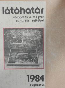 Buda Ferenc - Látóhatár 1984. augusztus [antikvár]