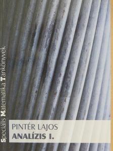 Pintér Lajos - Analízis I. [antikvár]