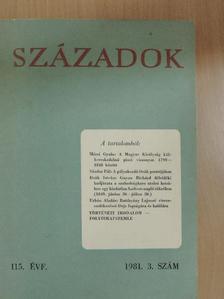 Deák István - Századok 1981/3. [antikvár]