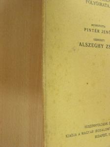 B. Gesmey - Irodalomtörténet 1939. 3-4. szám [antikvár]