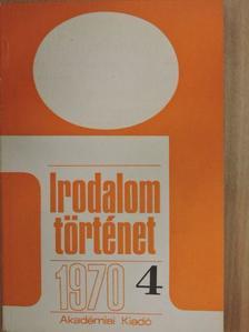 Áfra János - Irodalomtörténet 1970/4. [antikvár]