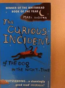 Mark Haddon - The Curious Incident of the Dog in the Night-Time [antikvár]