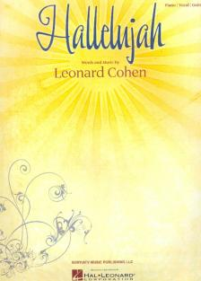 Leonard Cohen - HALLELUJAH FOR PIANO, VOCAL AND GUITAR, WORDS BY LEONARD COHEN