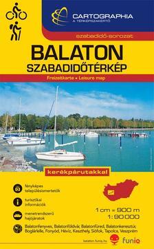 """Cartographia Kiadó - BALATON SZABADIDŐTÉRKÉP 1:90000 - """"SC"""" -"""
