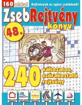 CSOSCH KIADÓ - ZsebRejtvény Könyv 48.