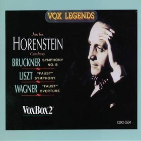 LISZT - A FAUST SYMPHONY CD JASCHA HORENSTEIN