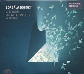 Bach - DAS WOHLTEMPERIERTE KLAVIER I CD DOBOZY BORBÁLA