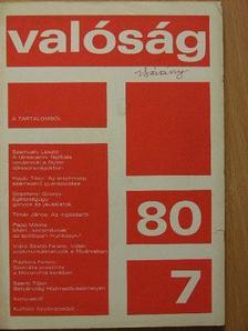 Dezső László - Valóság 1980. július [antikvár]