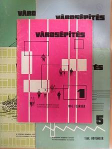 Brenner János - Városépítés 1966. (nem teljes évfolyam) [antikvár]