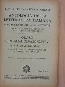 Boros Ferenc - Olasz irodalmi olvasókönyv  [antikvár]