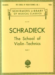 SCHRADIECK - THE SCHOOL OF VIOLIN-TECHNICS. BOOK I (LIBRARY VOL. 515) - UJJGYAKORLATOK
