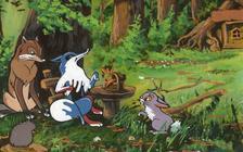 A pórul járt róka  - Diafilm