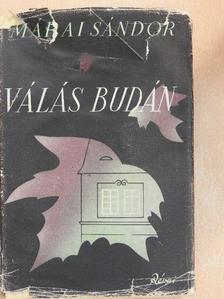Márai Sándor - Válás Budán [antikvár]