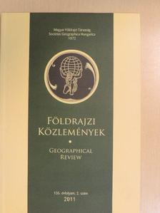 Bokor László - Földrajzi Közlemények 2011/2. [antikvár]