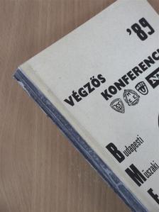 Adamis Gusztáv - Végzős konferencia '89 [antikvár]