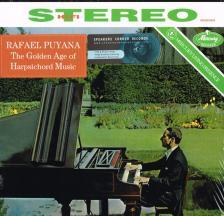 BESARD; COUPERIN; FREIXANET - THE GOLDEN AGE OF HARPSICHORD MUSIC LP RAFAEL PUYANA