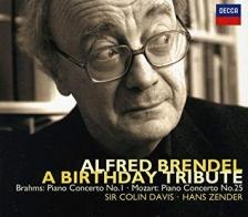 BRAHMS/MOZART/BEETHOVEN/SCHUBERT/ - ALFRED BRENDEL A BIRTHDAY TRIBUTE 2CD