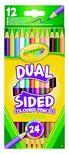 Crayola Kétvégû színes ceruza 12 db-os