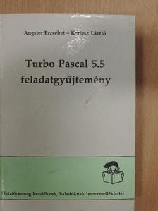 Angster Erzsébet - Turbo Pascal 5.5 feladatgyűjtemény [antikvár]