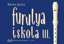 BÉRES JÁNOS - FURULYAISKOLA III (JAVÍTOTT KIADÁS)