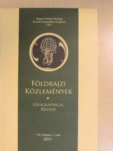 Beluszky Pál - Földrajzi Közlemények 2011/1. [antikvár]