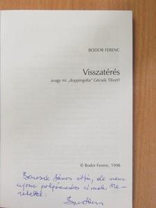 Bodor Ferenc - Visszatérés (dedikált példány) [antikvár]