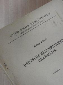 Mollay Károly - Deutsche Beschreibende Grammatik [antikvár]