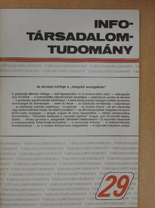 Ágh Attila - Info-Társadalomtudomány 1994. augusztus [antikvár]