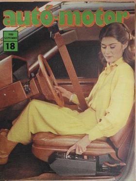 Almássy Tibor - Autó-Motor 1980. szeptember [antikvár]