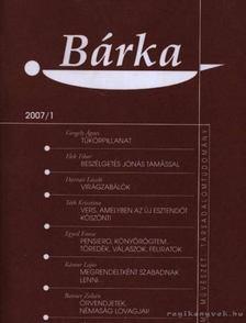 Elek Tibor - Bárka 2007/1 [antikvár]