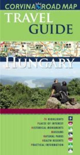 Hungary travel guide+Magyarország idegenforgalmi autóstérképe - 2015