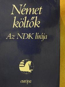 Adolf Endler - Német költők [antikvár]