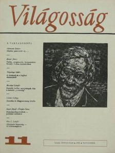 Arany János - Világosság 1982. november [antikvár]