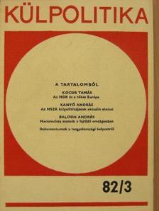 Balogh András - Külpolitika 1982/3. [antikvár]
