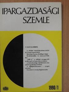 Bélyácz Iván - Ipargazdasági szemle 1990/1-4. [antikvár]