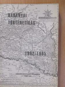 Aszmann Mária - Baranyai történetírás 1992/1995 [antikvár]
