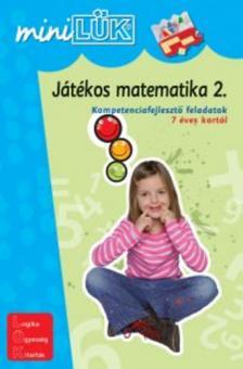 LDI-219 - Játékos matematika 2. - Kompetenciafejlesztő feladatok 7 éves kortól